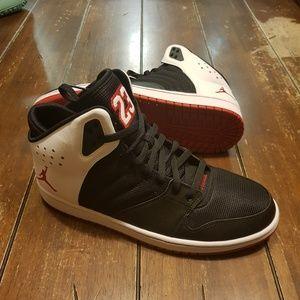 Nike Air Jordan 1 Flight 4 black gym red white New